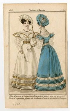 Women 1825 Plate 2366 Costume Institute Fashion Plates