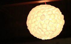 Como decorar luminária