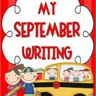 """Welcome back to school teachers!  This September """"Back to School"""" themed packet of no-prep writing activities can be great for grades 2-5 and is a ..."""