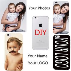 OEM DIY Customized Phone Coque For Iphone & Samsung