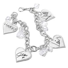 One Direction: One Direction Signature Hearts Bracelet
