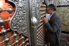 Feb. 16, 2012, an Iranian Jewish man, prays at the tomb of biblical prophet Daniel, in the city of Susa, some 450 miles ( 750 kilometers) southwest of the capital Tehran, Iran. All but lost amid the heated talk about a possible Israeli attack on Iran's suspect nuclear program are the thousands of Jews who live in the Islamic Republic and could be caught in the middle. Photo: Vahid Salemi / AP    Read more: http://www.ctpost.com/news/article/Worries-over-Iranian-Jews-if-Israel-attacks-