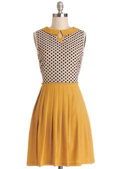 Curious Columnist Dress | Mod Retro Vintage Dresses | ModCloth.com