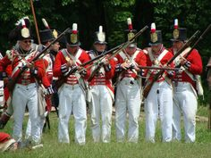 British Soldiers - War of 1812 Re-enactment, Stoney Creek, Ontario | Flickr - Photo Sharing!