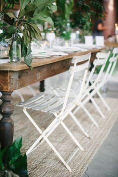 Found Vintage Rentals Dining Table + Bistro Chairs Dining Table Sale, Patio Dining, Outdoor Dining, Outdoor Decor, Dining Room, Outdoor Spaces, Patio Tables, Outdoor Seating, Outdoor Dinner Parties