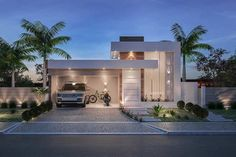 49 most popular modern dream house exterior design ideas 19 Modern House Facades, Modern Architecture House, Modern House Plans, Architecture Design, Best Modern House Design, Minimalist House Design, Minimalist Home, Villa Design, Facade Design