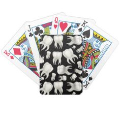 Dentist playing cards. #dentistry