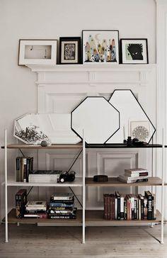 Novel Cabinet Makers - Reol - reolsystem - interiør - dansk design - boligindretning - indretning - designblog - brugskunst - opbevaring - let reol - fleksible reol - nordiske riger - skandinavisk design - spejle