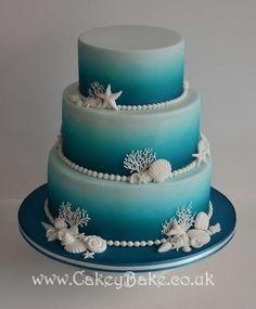 nice beach wedding cakes 10 best photos