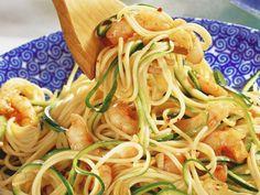 Spaghetti met scampi's - Libelle Lekker!