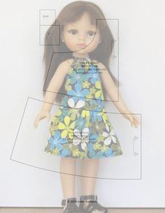VK is the largest European social network with more than 100 million active users. American Girl Outfits, Doll Dress Patterns, Clothing Patterns, Doll Crafts, Diy Doll, Nancy Doll, Wellie Wishers Dolls, Girl Doll Clothes, Fabric Dolls