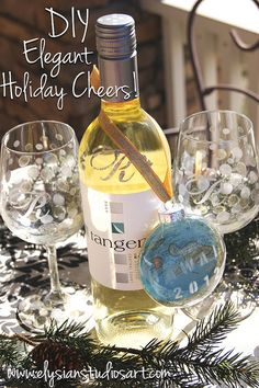 DIY Elegant #Holiday Cheers! gift set by elysianstudiosart, via Flickr