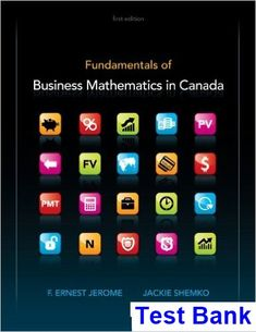 Foundations of financial management 16th edition test bank block fundamentals of business mathematics in canada canadian edition canadian 1st edition jerome test bank test fandeluxe Gallery