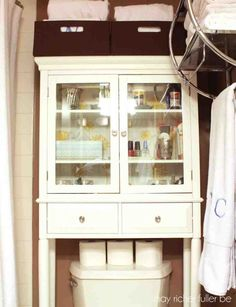 Bathroom Over The Toilet Storage Cabinets