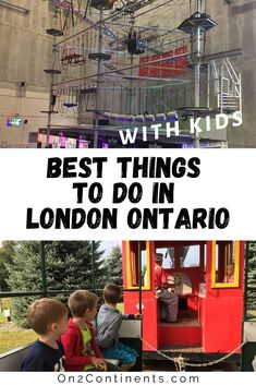 Discover the top fun summer activities for families in London, Ontario. #ldn #ldngem #londonON #ldnont #londonontario #canada #on2continents #travelblog #thingstodowithkids #ontario #summer #funactivities Outdoor Summer Activities, Fun Activities, Storybook Gardens, Adventure Farm, Trampoline Park, Things To Do In London, Indoor Playground, Summer Kids, Continents