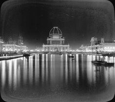 In 1893, Chicago hosted the World Fair. It is estimated that 1 in 4 Americans saw the fair. The whole fair was built to be impressive and spectacular. The Manufactures and Liberal Arts Building was the largest enclosed space ever built at 40 acres and 230 feet tall.