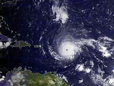 US-bound Hurricane Irma has gotten so strong that it is showing up on equipment designed to measure earthquakes. Stephen Hicks, a seismologist at the National Oceanography Centre Southampton, said seismometer recordings on Guadeloupe, an island group in the southern Caribbean Sea, show the now-Category 5 storm approaching the Lesser Antilles, another Caribbean island group.