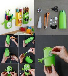 per riciclare le bottiglie di plastica