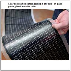 Screen print your own solar cells to create solar power for your home!