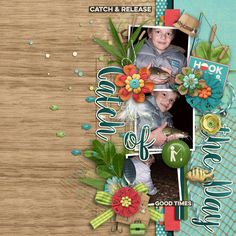 Outdoorsy: Fishing by Kristin Aagard Designs http://scraporchard.com/market/digital-scrapbooking-kit-outdoorsy-fishing.html Duo 14 - Invincible by La Belle Vie Designs http://scraporchard.com/market/Duo-14-Invincible-Digital-Scrapbook-Templates.html #kaagard #lbvd #digiscrapbooking