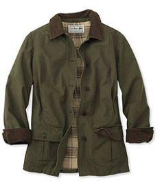 Adirondack Barn Coat Flannel Lined My Style Fall And