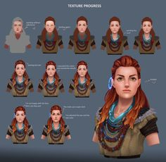Stylizing Character Content: Model, Texture, Details