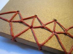 Japanese stab binding patterns