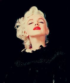 """eternalmarilynmonroe:  """" I saw that what she looked like was not what she really was, and what was going on inside her was not what was going on outside, and that always means that there may be something to work with. In Marilyn's case, the reactions were phenomenal. She can call up emotionally what is required for a scene. Her range is infinite."""" - Lee Strasberg"""