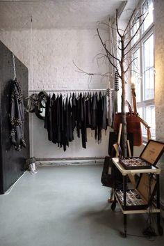 suspended rack