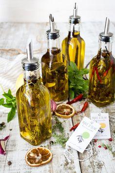 Huiles d'olive Parfumées