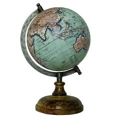 23 best handmade wooden world globes images on pinterest desk amazon globes of the world antique shaded handcrafted vintage 8 inch world gumiabroncs Image collections