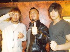 naito, takagi and ibushi Kota Ibushi, Wrestling, Fictional Characters, Gate, Collection, Dragon, Lucha Libre, Portal, Dragons