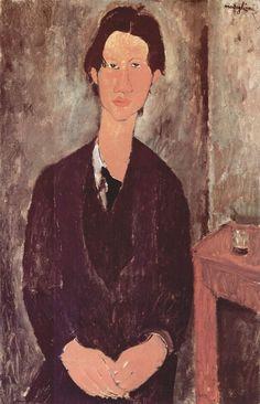 Amedeo Modigliani - Ritratto di Caïm Soutine