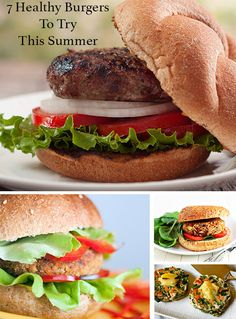 Burgers are a summer staple, but you don't have to let them ruin your diet. Try these seven healthy burger recipes instead. Vegetarian options included! #burgers #recipes #healthyrecipes #vegetarian #tofu #beef #dinner #lunch #beachbody #beachbodyblog