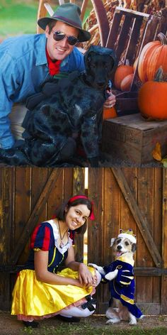 Not sure what you and your pet should be for Halloween? Check out some of these Halloween Costumes for great ideas!