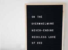 Reckless Love - Cory Asbury / Bethel Music