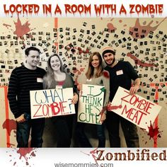 I was Locked in a Room with a Zombie: Here is My Review