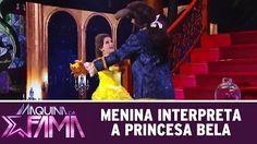 Beautiful little girl plays, Disney princesses Giulia Soncini - YouTube