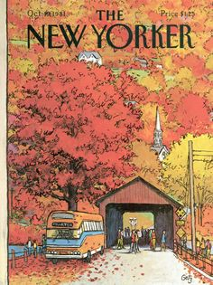 The New Yorker Cover - October 19, 1981 - Arthur Getz