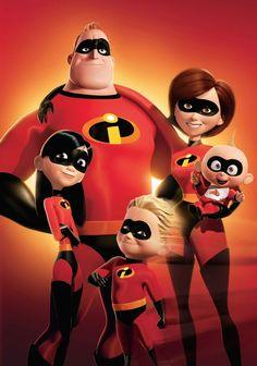 the incredibles print disney painting super hero family gift pixar art Best Movies List, Movie List, Great Movies, Hd Movies, Movies And Tv Shows, Awesome Movies, 2018 Movies, Movies Free, Pixar Movies