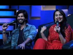 In this episode 117 of Star Speak we have with us Shahid Kapoor and Sonakshi Sinha chanting the solgan from their upcoming movie – Pyaar, maar, naach, gaana …