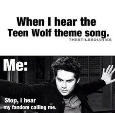 teen wolf theme song | Tumblr