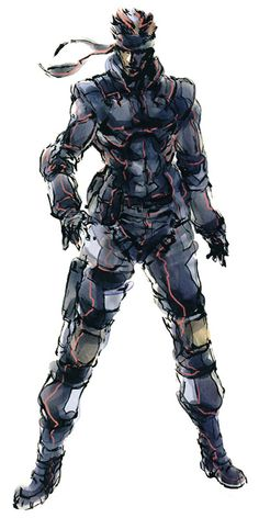 Solid Snake. The Man. The Legend