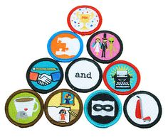 NaNoWriMo Merit Badge Patches | The Office of Letters and Light Donation Station and Store (25)
