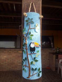 Mosaico na telha -Ana Vasconcellos