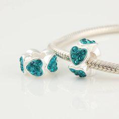 Pandora Herz Silber-Element Xs205F €23.98