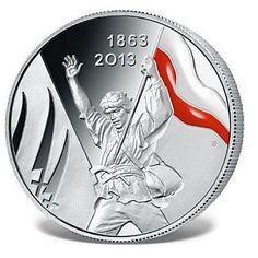150. rocznica Powstania Styczniowego, srebro: 999/1000 #powstanie