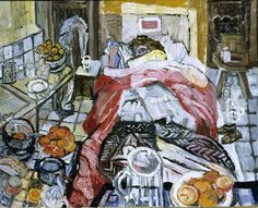 John Bratby, Jean in bed with jaundice