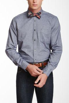 Ben Sherman Long Sleeve Dolka Pot Shirt by Non Specific   http://www.stylenfashion.net/men/mens-style-break