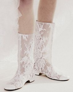 Chanel go-go boots